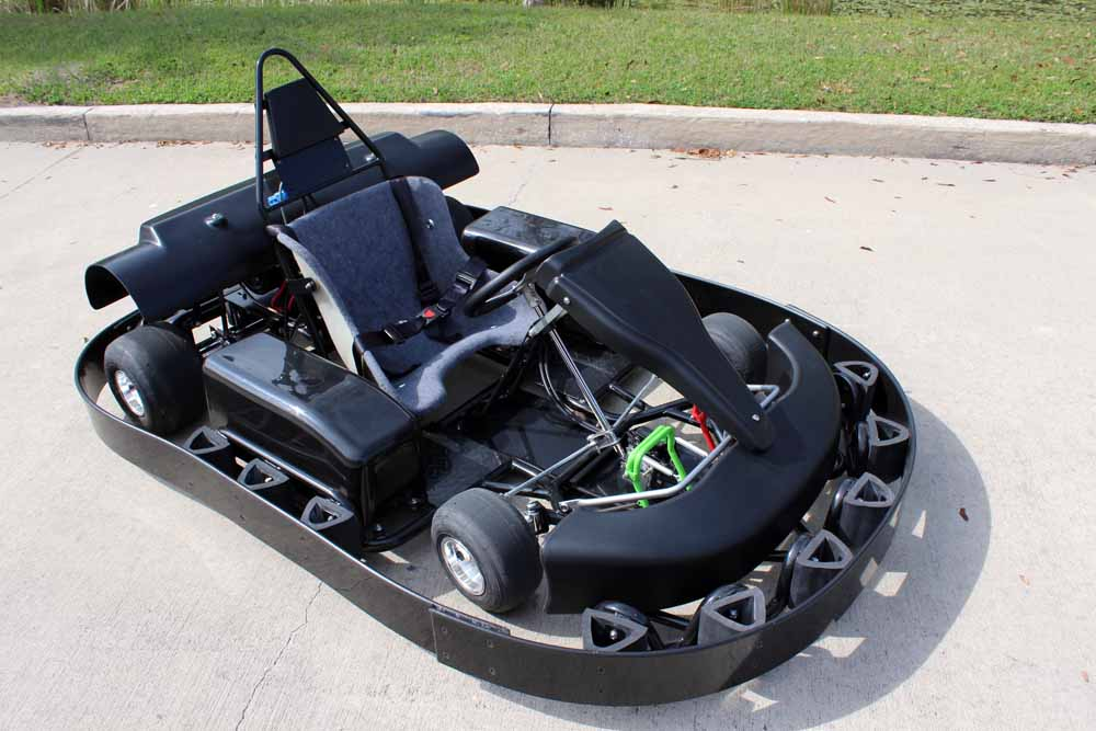 electric racing bumper kart for sale bintelli karts. Black Bedroom Furniture Sets. Home Design Ideas