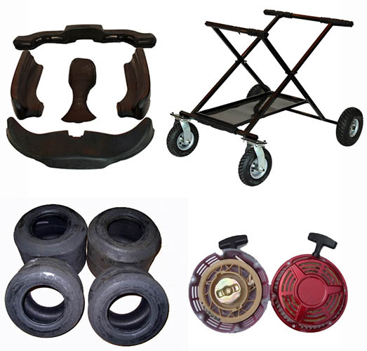 Racing go karts & go kart accessories for sale | Bintelli Karts